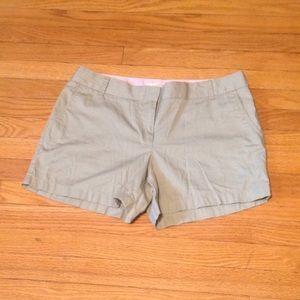 J Crew Factory Store khaki shorts Sz: 12